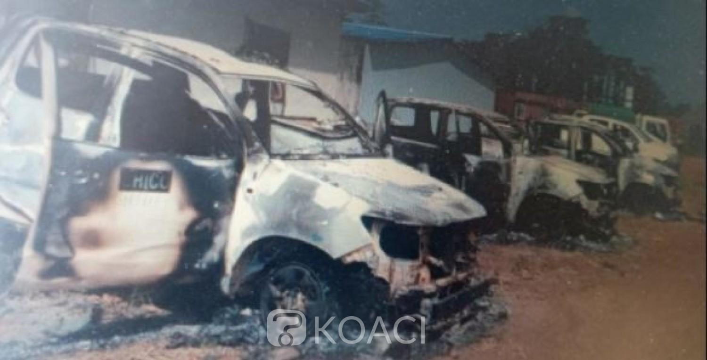 Côte d'Ivoire : Cinq véhicules d'une  société chinoise incendiés suite à un accident mortel