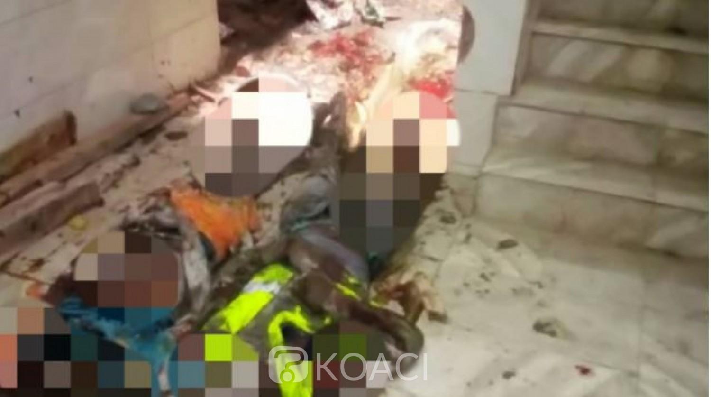 Côte d'Ivoire : A Abobo-baoulé, un immeuble en construction R+4 s'écroule et fait 2 morts