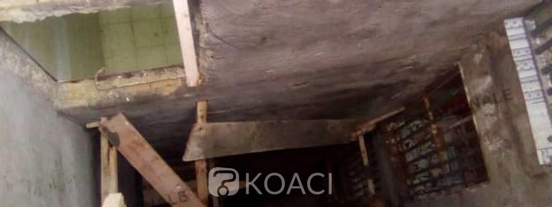 Côte d'Ivoire : L'échafaudage qui servait d'échelle aux ouvriers d'un immeuble s'écroule,   deux (02) morts et deux (02) interpellés