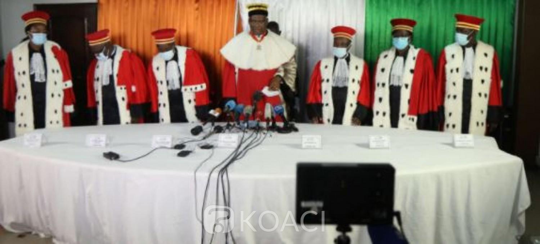 Côte d'Ivoire : Présidentielle 2020, le Conseil Constitutionnel a reçu tous les PV et ouvert les réclamations, le verdict final  la semaine prochaine ?