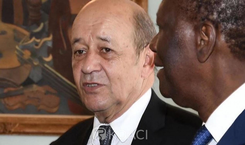 Côte d'Ivoire : La France se joint à l'appel de la CEDEAO et de l'UA pour que les acteurs s'abstiennent de toute initiative sortant du cadre constitutionnel