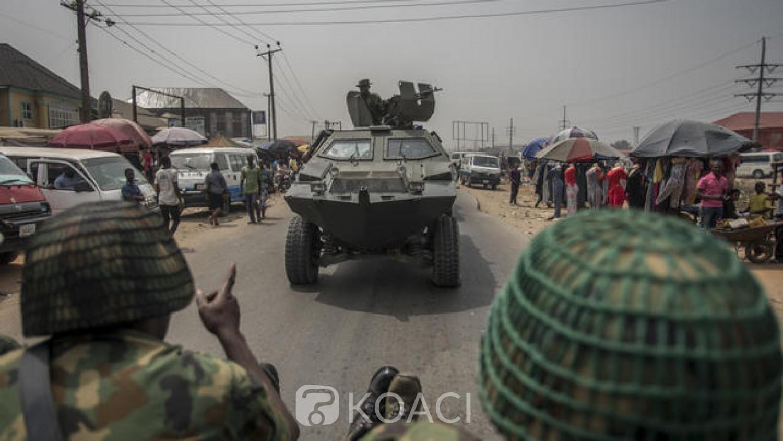 Nigeria : Etat de Borno, l'explosion d'une mine fait au moins 9 morts dans les rangs de l'armée
