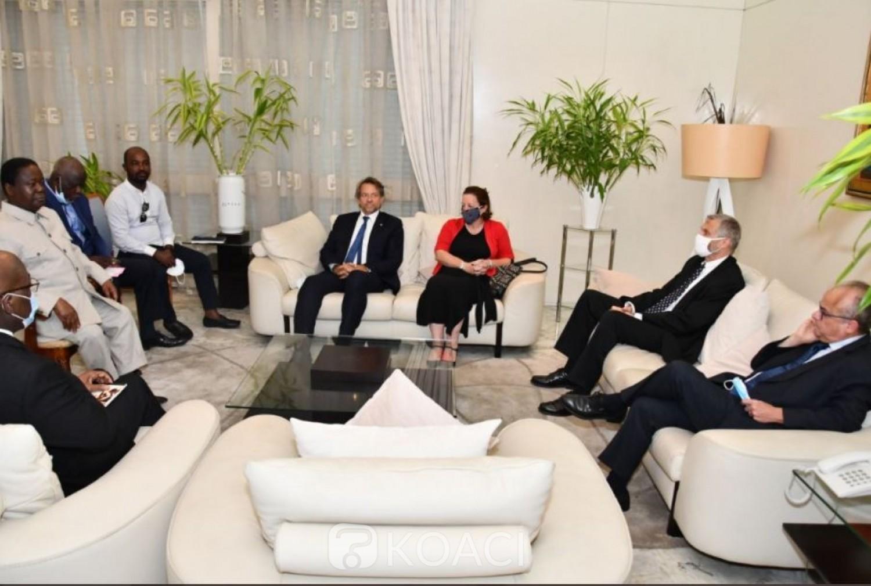 Côte d'Ivoire : Les Ambassadeurs ont demandé à Bédié de revenir sur ses déclarations concernant la transition