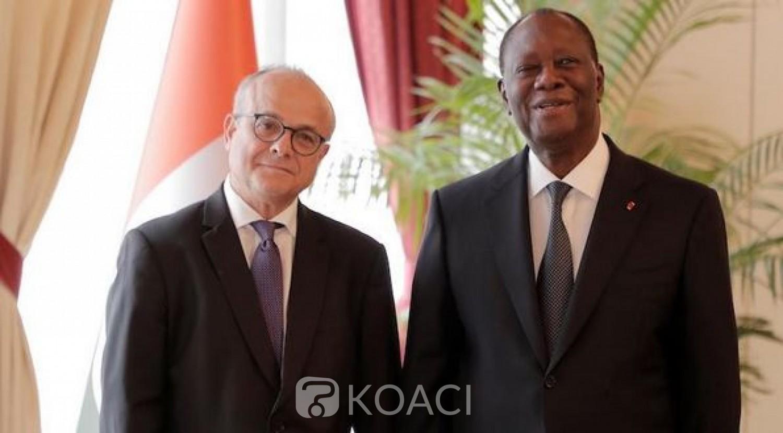 Côte d'Ivoire :    A peine réélu, Alassane Ouattara déjà à la tâche, a reçu les lettres de créances de cinq ambassadeurs dont celles des français et allemand