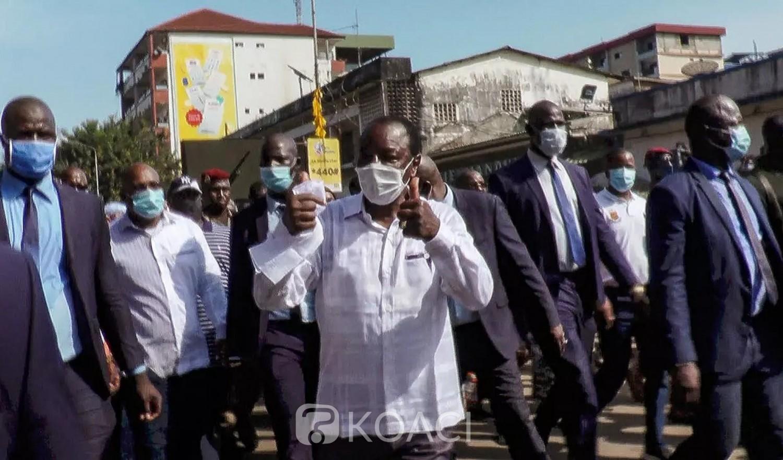 Guinée : Sa victoire validée par la cour constitutionnelle, Alpha Condé se permets une parade à Kaloum