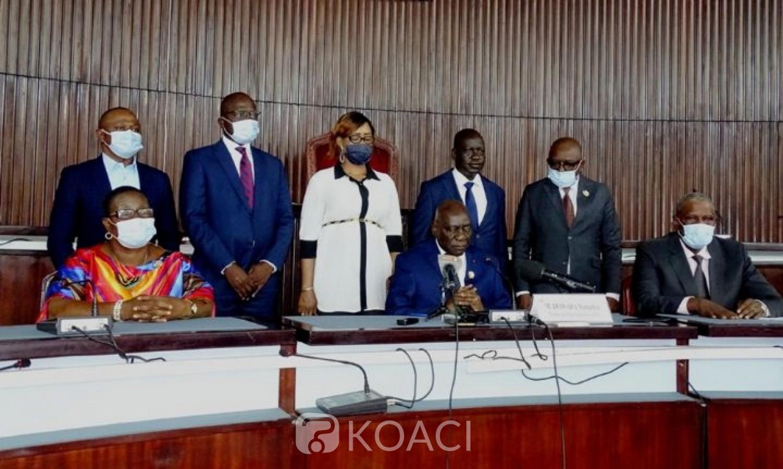 Côte d'Ivoire : Le groupe parlementaire RHDP invite les auteurs du CNT à s'inscrire résolument dans l'ordre constitutionnel et à privilégier le dialogue