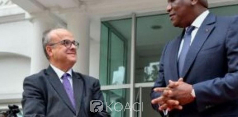 Côte d'Ivoire : Pour l'Ambassadeur de France, la rencontre Ouattara-Bédié permettra au pays  de retrouver la sérénité et le chemin de la réconciliation