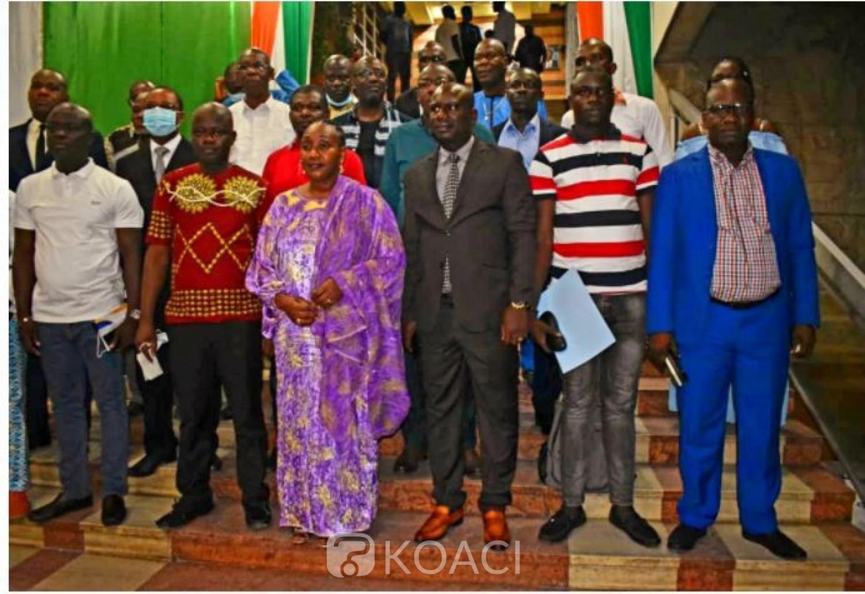 Côte d'Ivoire : Après les violences post-électorales à Toumodi, Raymonde Goudou engage les Mutuelles pour la consolidation de la paix dans  la Région