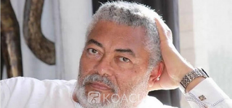 Ghana : Décès de l'ancien Président putschiste Jerry Rawlings