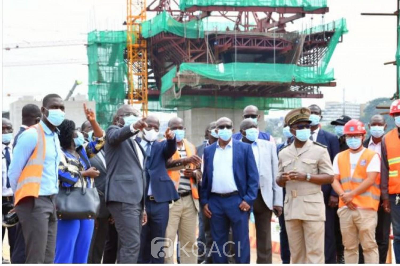 Côte d'Ivoire : Infrastructures routières, le Ministre Amédé Kouakou s'imprègne de l'état d'avancement des 4è et 5è ponts d'Abidjan