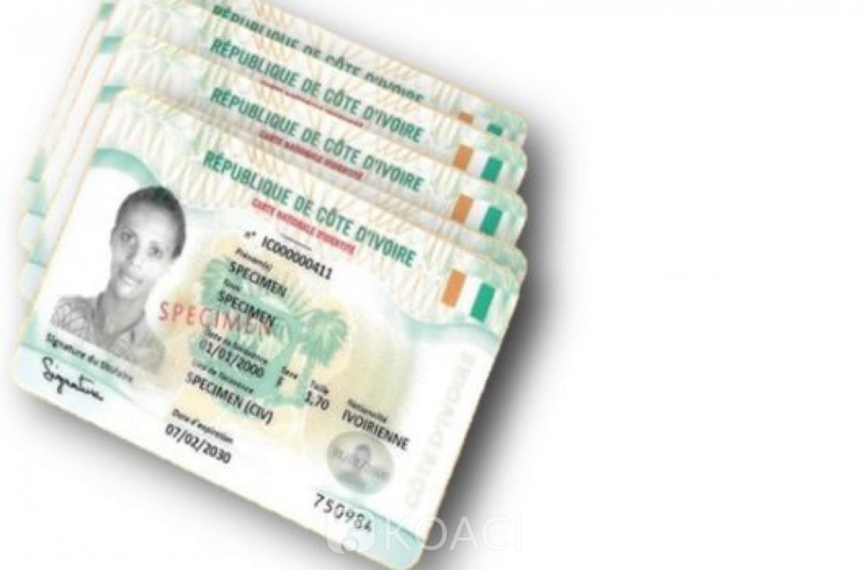 Côte d'Ivoire : L'ONECI annonce l'ouverture des guichets pour le traitement des CNI ayant connues des retards de 2014 à 2019