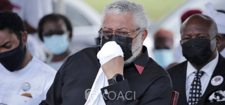 Ghana :  Décès de Rawlings, deuil de 7 jours, drapeaux en berne, les premiers hommages