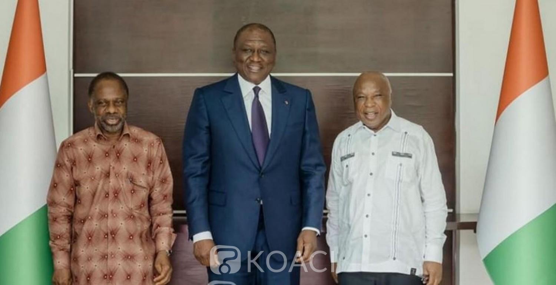 Côte d'Ivoire : Décrispation sociopolitique au Pays, Hamed Bakayoko échange avec les pro-Gbagbo Assoa Adou et Danon Djédjé