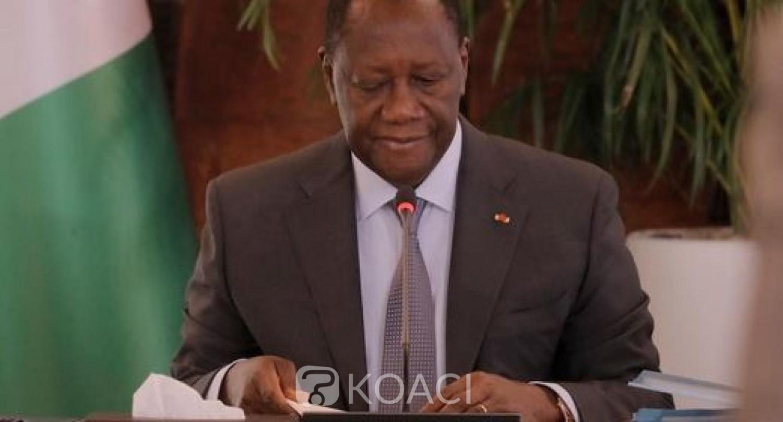 Côte d'Ivoire : Bilan de la présidentielle, Alassane Ouattara très amer face aux ministres des 16 régions perturbées