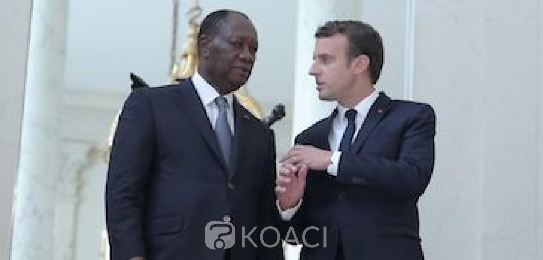 Côte d'Ivoire-France : Emmanuel Macron félicite Alassane Ouattara pour sa réélection