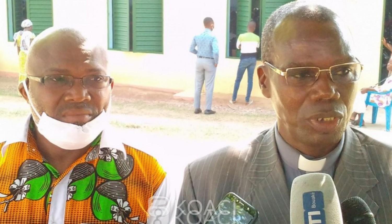 Côte d'Ivoire : Bouaké, pour la sécurité routière et contre la Covid-19, des fidèles religieux sensibilisés
