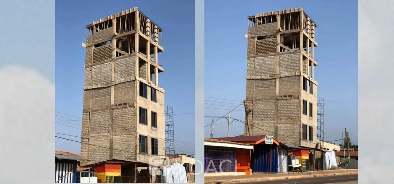 Ghana :  Un inquiétant étage interdit d'évoluer à Accra