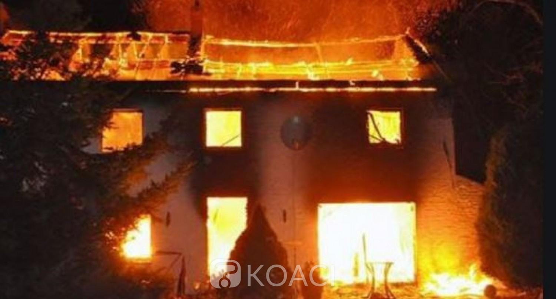 Côte d'Ivoire : Drame à Gagnoa, un couple périt dans l'incendie de leur domicile