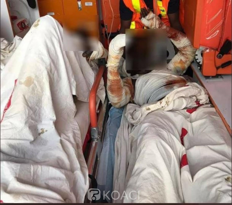 Côte d'Ivoire : Un  camion-citerne prend feu et fait deux victimes