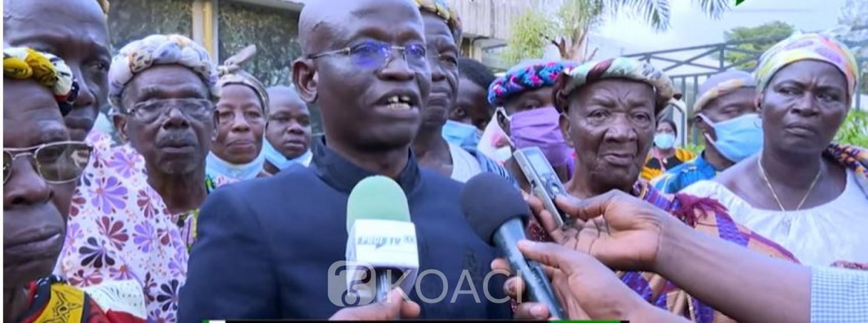Côte d'Ivoire : Des chefs Baoulés heureux de retrouver Bédié en bonne santé militent  pour que la tension politique se calme