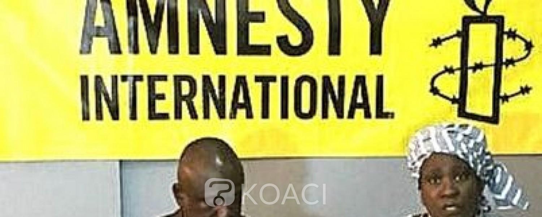 Côte d'Ivoire :   L'Etat demande à Amnesty international « un peu plus de rigueur dans la production de ses différents rapports »