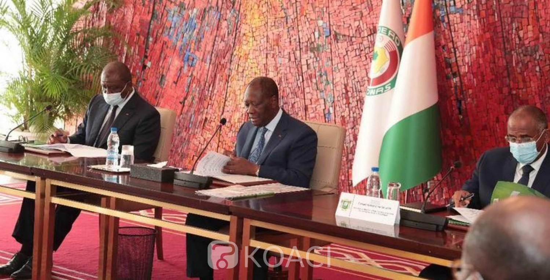 Côte d'Ivoire : Troubles des mots d'ordre de la Présidentielle, Ouattara « instruit le CNS afin que les enquêtes, en cours, soient accélérées »