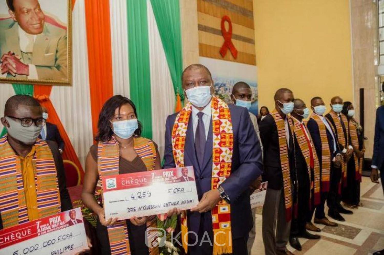 Côte d'Ivoire : Prix Alassane Ouattara du jeune entrepreneur,  260 jeunes installés, 800 emplois créés de 2014 à 2019