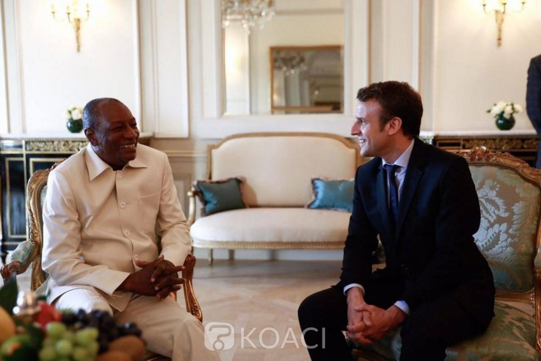 Guinée –France : Macron tire à boulets rouges sur Alpha Condé pour son troisième mandat