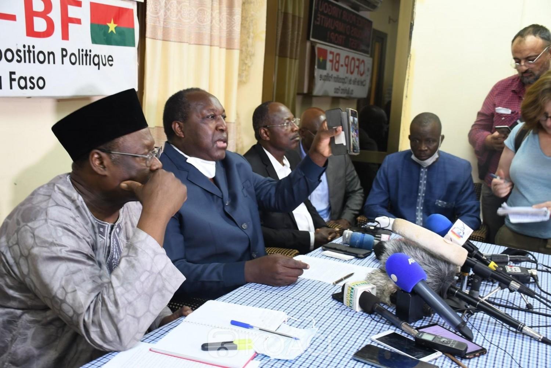 Burkina Faso : Présidentielle, les candidats de l'opposition dénoncent des tentatives de fraude massive