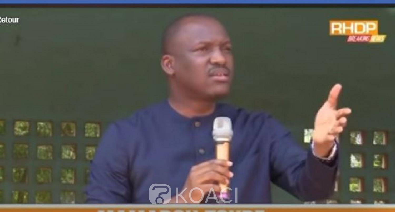 Côte d'Ivoire : Depuis Daloa Mamadou Touré révèle que Ouattara lui-même va s'investir pour le retour de Gbagbo