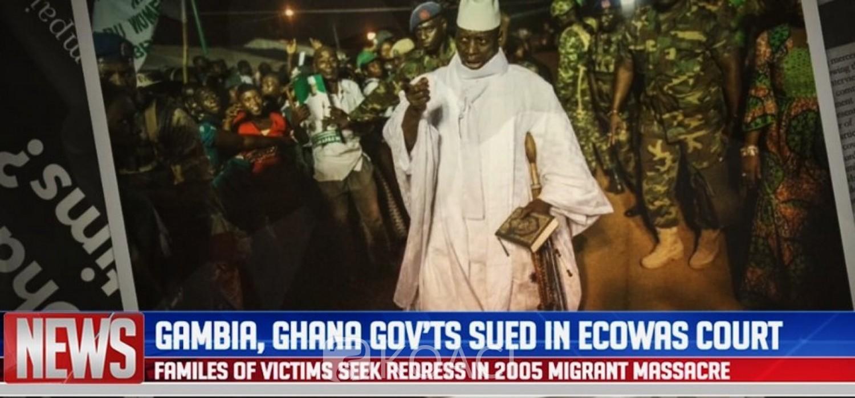Cedeao : La Gambie et le Ghana assignés en justice par les familles de migrants tués sous Jammeh