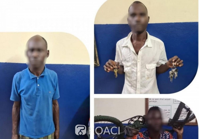 Côte d'Ivoire : Abobo, folle nuit, interpellation de 3 individus pour respectivement séquestration et sodomie d'un garçonnet et vols, présumés