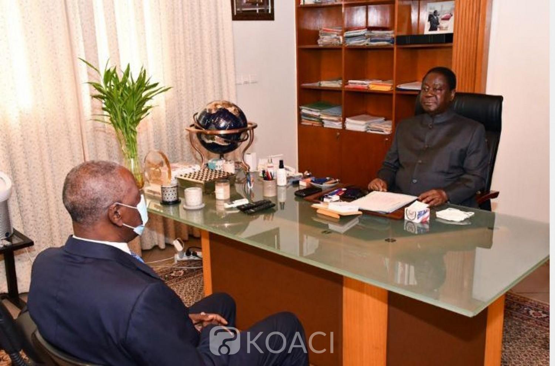 Côte d'Ivoire : Suspension du dialogue politique, le Médiateur de la République sort de son silence et rencontre Bédié, ce qu'il a confié à sa sortie d'audience