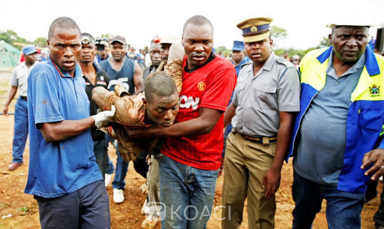Zimbabwe : 40 mineurs clandestins au moins seraient piégés dans une mine d'or