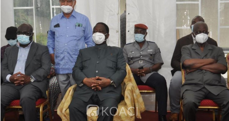Côte d'Ivoire : Bédié devant les chefs des régions du Gôh, Loh Djiboua et Sassandra: « On ne doit pas considérer un adversaire politique comme un ennemi »