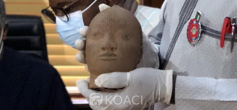 Nigeria : Les Pays-Bas restituent une sculpture de plus de 600 ans