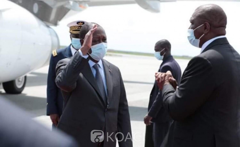 Côte d'Ivoire : Avant son investiture, le chef de l'Etat Alassane Ouattara s'offre un séjour en France