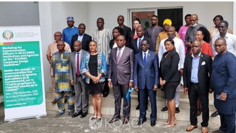 Côte d'Ivoire : Depuis Abidjan, la CEDEAO vulgarise sa charte graphique validée à Abuja le 3 Août 2020 en vue d'une harmonisation des outils de communication