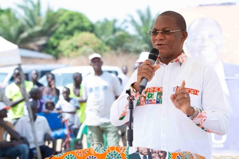 Côte d'Ivoire : Depuis Boundiali, Bruno Koné à l'opposition « ils ont tout fait pour empêcher la tenue du scrutin mais les élections ont eu lieu », son appel concernant les législatives