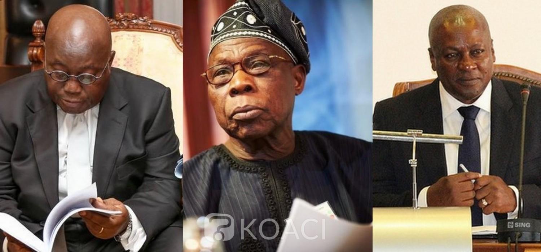 Nigeria-Ghana :  Lettre d'Obasanjo aux « deux partis géants » du Ghana avant les élections