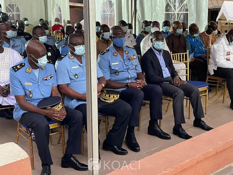 Côte d'Ivoire : Décès du fils de Laurent Akoun, une forte délégation conduite par le Ministre Vagondo Diomandé au domicile de l'opposant