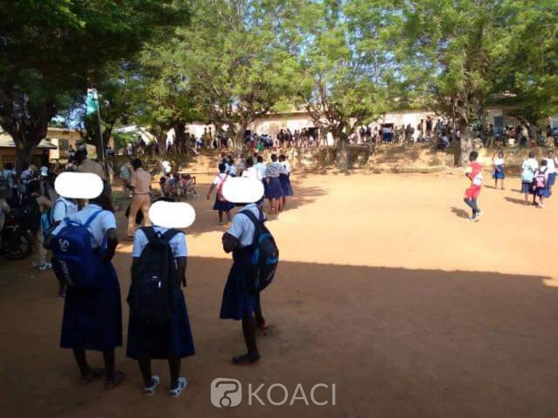 Côte d'Ivoire : Sassandra, suite à la bastonnade d'un professeur, par des hommes du maire, les cours suspendus dans la ville