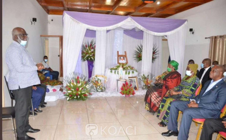 Côte d'Ivoire : Décès vendredi dernier  du Sénateur Memel Grah Félix