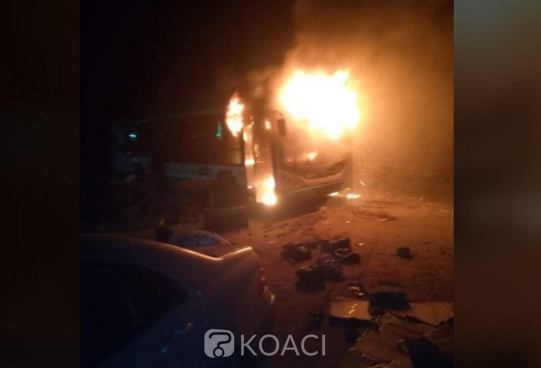 Côte d'Ivoire : Yopougon, au moins quatre véhicules incendiés par des individus à Niangon non loin de la pharmacie Sainte Rita