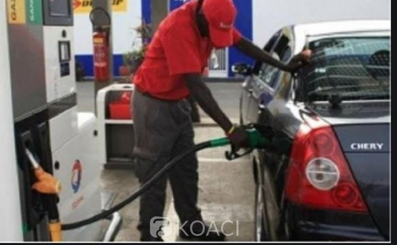 Côte d'Ivoire : Hydrocarbures, les prix du litre du super sans plomb et celui du gasoil restent inchangés à 600 francs CFA