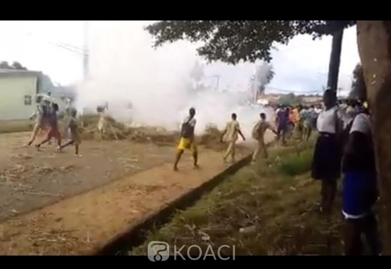 Côte d'Ivoire : Sassandra, arrestation d'un élève et bastonnade d'un professeur, des élèves marchent sur la mairie et le domicile du maire