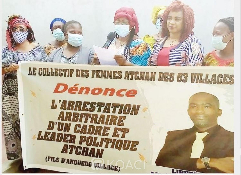 Côte d'Ivoire : Des femmes Atchans dénoncent l'arrestation  d'Aguédé Yves, fédéral FPI à Cocody