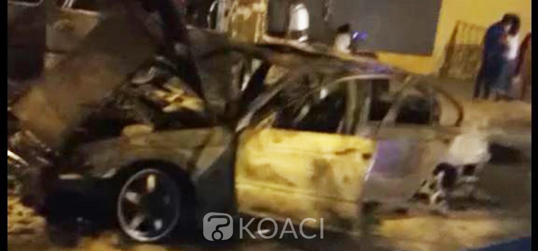 Côte d'Ivoire :   Incendie de véhicules à Yopougon, une victime affirme que les agresseurs étaient munis d'armes à feu et de machettes