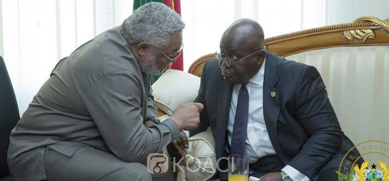 Ghana :  Retour sur les tumultueuses relations d'Akufo-Addo avec Rawlings