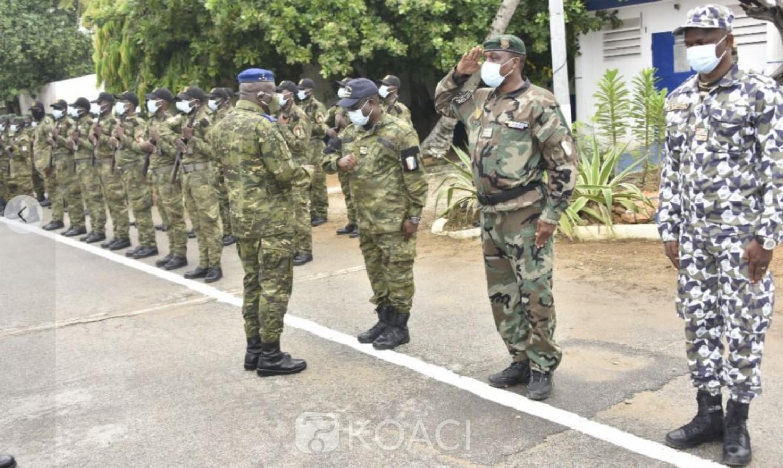 Côte d'Ivoire : Sous le feu de l'intox durant la présidentielle, le Général Lassina Doumbia communie avec les Marins pour leur comportement professionnel pendant les élections
